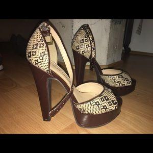 Never worn sexy heels!